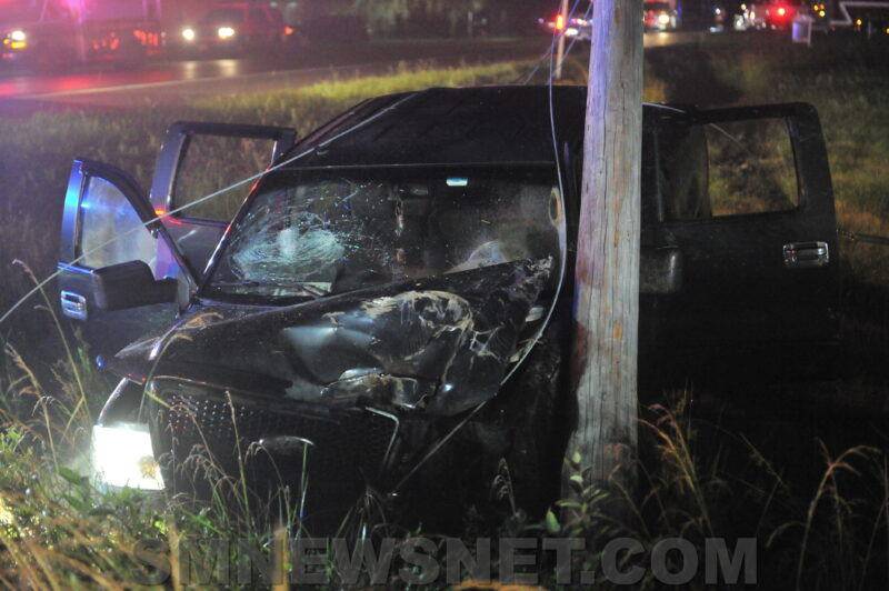 Two Flown to Area Trauma Center After Vehicle Strikes Utility Pole in Dameron