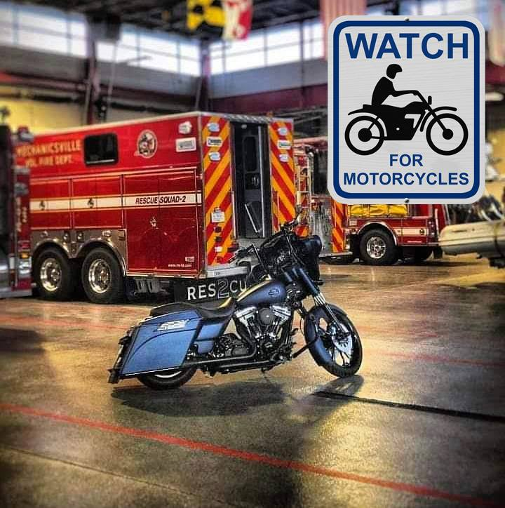 First Responders Urge Motorists to Watch for Motorcyclists