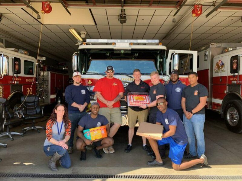 Waldorf Volunteer Fire Department Thanks Many Local Businesses for Donations!