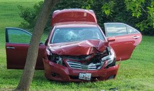 Motor Vehicle Crash in Great Mills Sends Female Passenger to Trauma Center