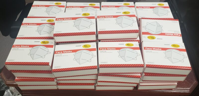 Maryland State Police Receives Large Donation of N95 Masks by California Lowe's Home Improvement Store