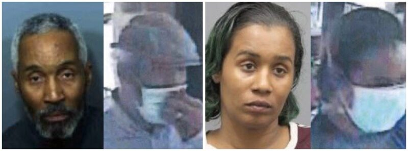 Calvert County Sheriff's Office Seeking Whereabouts of Two Theft Suspects in Prince Frederick