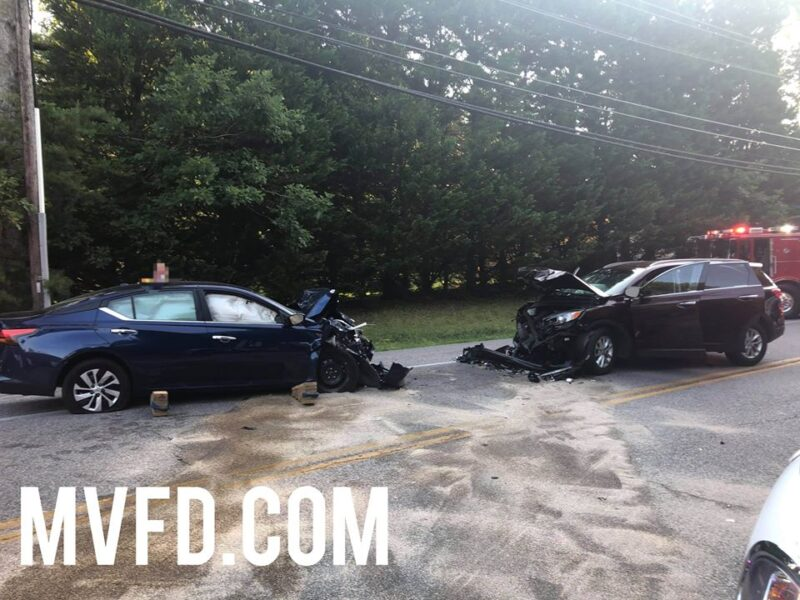 One Adult, Two Children Flown to Trauma Centers After Head-on Collision in Mechanicsville