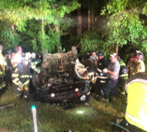 First Responders Respond to Two Seperate Serious Motor Vehicle Collisions in Under an Hour