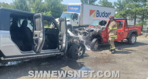 Firefighters Quickly Extinguish Vehicle Fires in Lexington Park