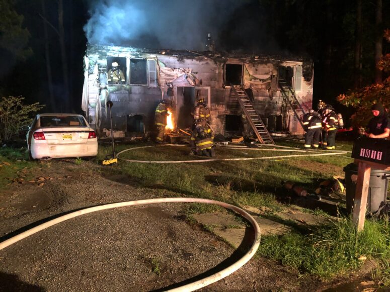 State Fire Marshal Investigating House Fire in Indian Head, No Injuries Reported