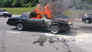 VIDEO: No Injuries Reported After Vehicle Fire in California, St. Mary's County Sheriff's Office Investigating