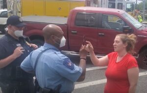 VIDEO: Impaired Hollywood Woman Arrested at the Scene of Three Car Accident in California
