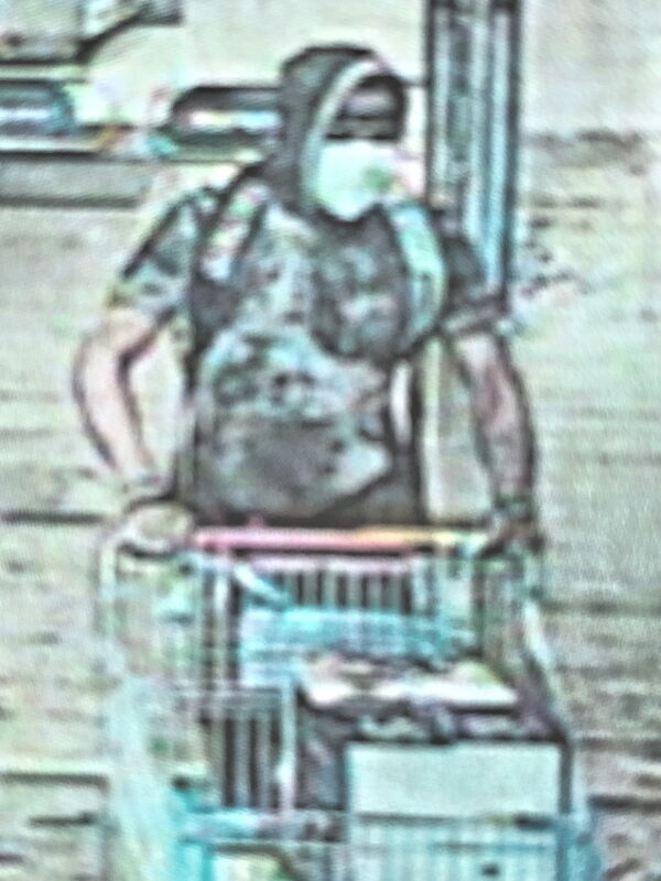 St. Mary's County Sheriff's Office Seeking Identity of Theft Suspect at California Walmart