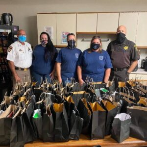 Charles County Sheriff's Office Thanks Fire and Rescue Crews, Charles County Emergency Services for Large Donations