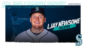 Southern Maryland Native LJay Newsome Makes His MLB Debut for the Seattle Mariners