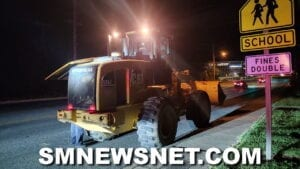 St. Mary's County Sheriff's Office Investigating Large Construction Equipment Stolen and Then Abandoned on Great Mills Road