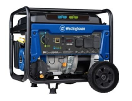 Over 7,000 Westinghouse Portable Generators Recalled Due to Fire Hazard