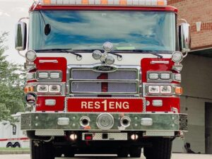 La Plata Volunteer Fire Department Takes Delivery of New Rescue Engine with Replaced 2005 Pierce Rescue Engine Listed for Sale