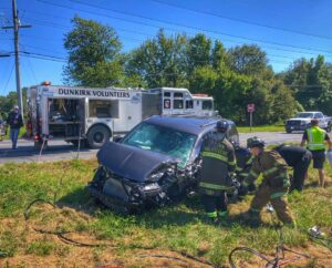 Three Injured, One Flown to Trauma Center After Six Vehicle Collision in Owings