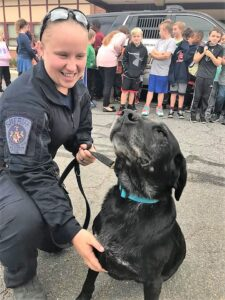 St. Mary's County Sheriff's Office Regrets to Announce Passing of K9 Jasmine