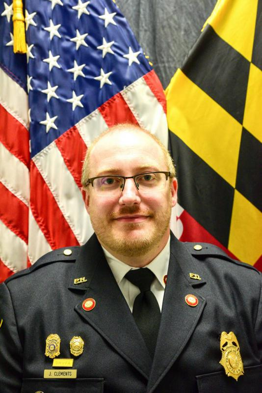 Jeff Clements Receives Promotion to Chief of Charles County 911