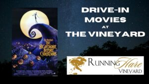 Running Hare Vineyard Hosting Drive-In Movie on Friday, October 23, 2020