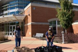 Student Life Team Distributes 800 Pounds of Food to College of Southern Maryland Students During Fourth Mobile Hawk Feeder Event