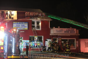 Sign of The Whale Liquor Store in Lexington Park Damaged by Fire, No Injuries Reported