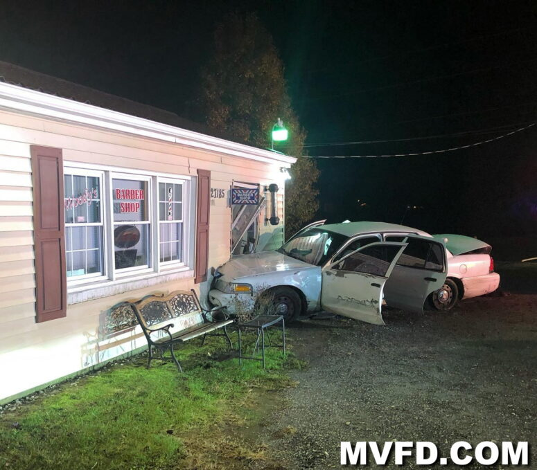 No Injuries Reported After Vehicle Strikes Building in Mechanicsville