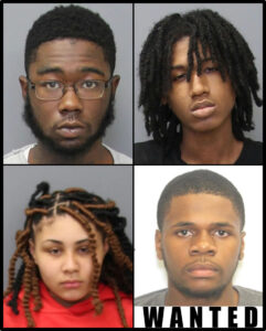 Detectives Identify and Charge Four Suspects in Connection with Four Armed Robberies