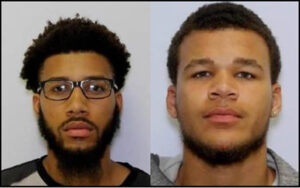 Calvert County Detectives Arrest Two Charles County Men Wanted in Assault, Strong-Armed Robbery Case