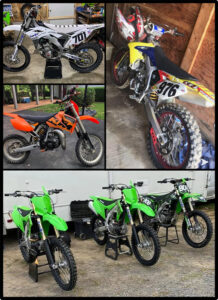 Police Investigating Multiple Dirt Bikes Stolen Throughout St. Mary's County
