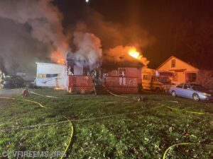 No Injuries Reported, State Fire Marshal Investigating House Fire in Marbury