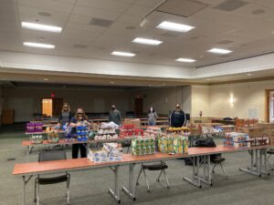 College of Southern Maryland Student Life Team Delivers Fifth Mobile Hawk Feeder Event; Distributes 1,140 More Pounds of Food to Students