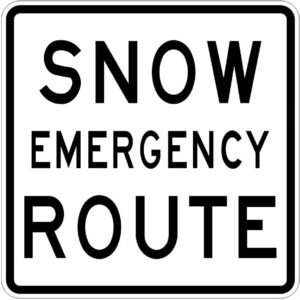 Commissioners Establish Emergency Snow Routes in St. Mary's County