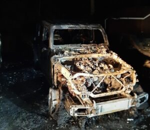 State Fire Marshal Deems Vehicle Fire in Dunkirk Accidental, No Injuries Reported