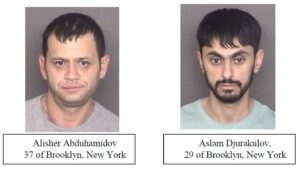 Police in St. Mary's County Arrest Two Men From New York on Drug Distribution Charges
