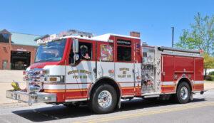 "Valley Lee Volunteer Fire Department Announces Passing of Life Member John P. ""Chuck"" Charles"
