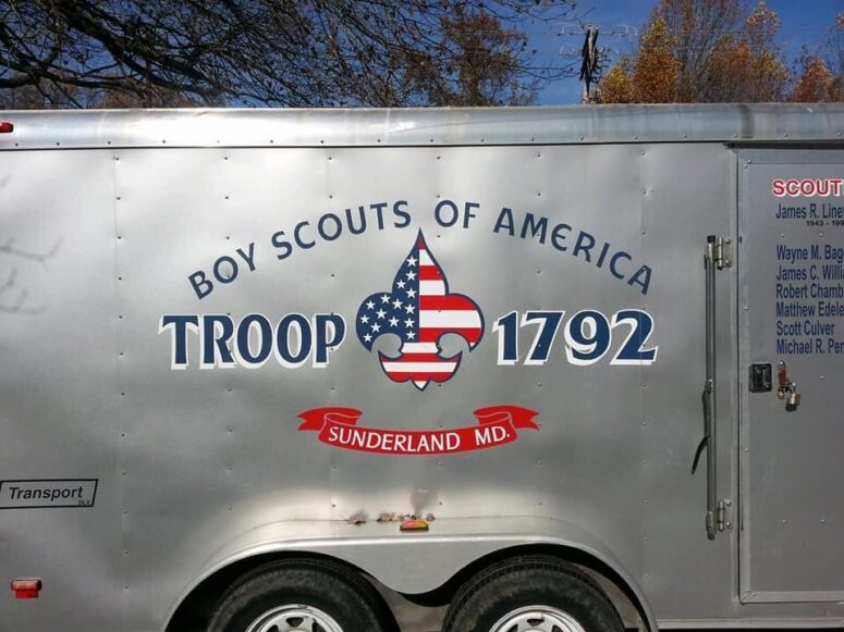 UPDATE: Police Recover Boy Scouts Trailers Stolen from Church in Huntingtown