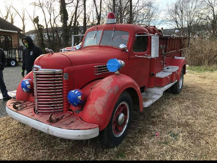 North Beach Volunteer Fire Department Receives 1947 Apparatus Back After Barn Find in North Carolina