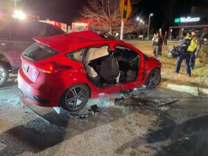 One Transported to Trauma Center After Serious Collision in Leonardtown