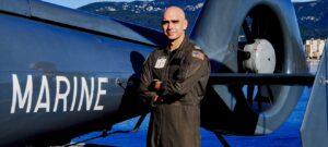 Saint Leonard Native, U.S. Navy Pilot Serving Alongside French Navy