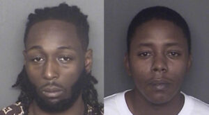 Tyriel Levar Gantt, age 24, and Terry Lee Kent Jr., age 30, both of California