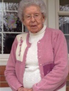 """Virginia Esther """"Virginia"""" Raley, 103"""