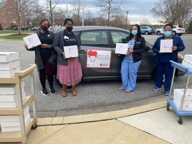Maryland Diaper Bank Gives the Best Gift of the Season to Moms Through Partnership with UM Charles Regional Medical Center