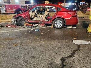 One Flown to Area Trauma Center After Four Vehicle Collision in Waldorf