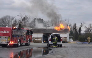 Firefighters Respond to Structure Fire at Navy Recreation Center in Solomons, NDW Investigating Cause