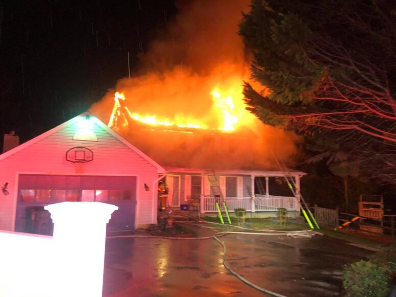State Fire Marshal Investigating House Fire in Waldorf, No Injuries Reported