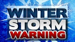 Winter Storm Warning for St. Mary's and Calvert County