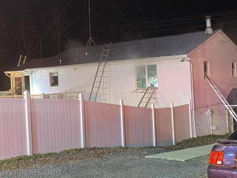 No Injuries Reported After House Fire in Mechanicsville
