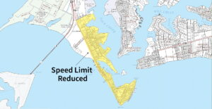 Calvert County Department of Public Works Announces Speed Limit Reduction in Solomons Beginning January 19, 2021