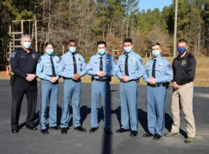 St. Mary's County Sheriff's Office Congratulates Five New Correctional Officer Graduates