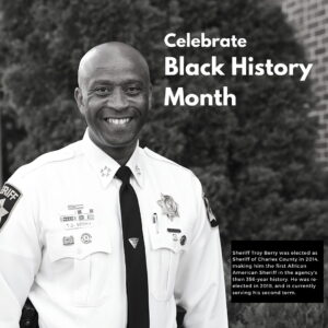 Charles County's First African American Sheriff's Speak Out on Police Diversity, and Charles County Organizations