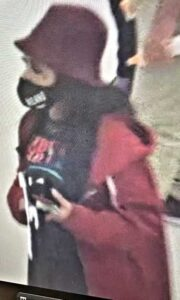St. Mary's County Sheriff's Office Seeking Identity of Suspect Pictured in California Theft
